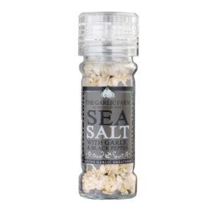 Garlic Sea Salt with Black Pepper