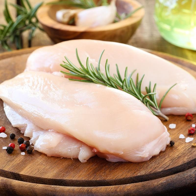 Free Range Skinless Boneless Chicken Breasts